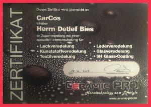 Cermic PRO Zertifizierung Car Cos Saarlouis